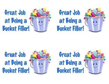 "Bucket Filler - ""Great Job"" Postcards"