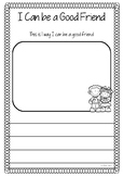 Bucket Filler - I can be a good friend by...