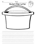 Bucket Filler Letter