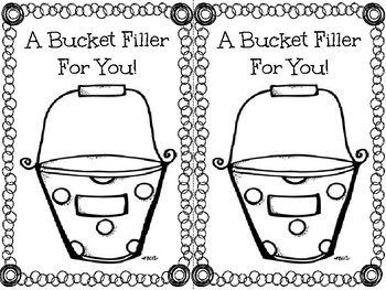 Bucket Filler Note