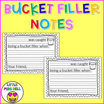 Bucket Filler Notes