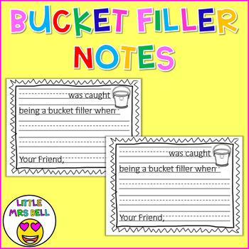 Bucket Filler Notes
