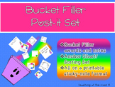 Bucket Filler Post-it Set {notes, awards, anchor chart & sort}