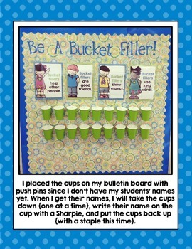 Bucket Filler Posters