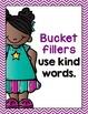Bucket Filler Posters- Bright Chevron