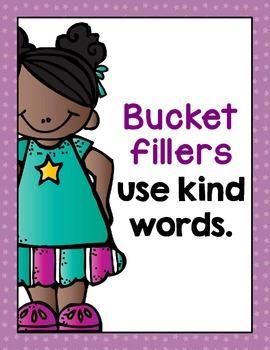 Bucket Filler Posters- Bright Stars