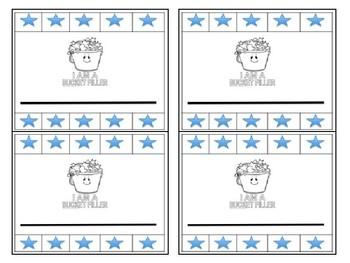 Bucket Filler Punch Card