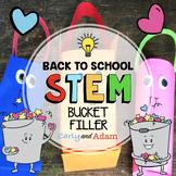 Bucket Filler Back to School STEM Activity