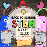 Bucket Filler Back to School STEM Activity