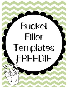 photograph relating to Bucket Printable named Bucket Filler Template Worksheets Education Components TpT