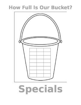 Bucket Filler Whole Class Display