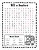 Bucket Filler - Word Search