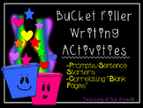 Bucket Filler Writing Activities