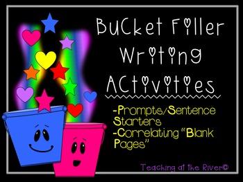 Bucket Filler Writing Activities