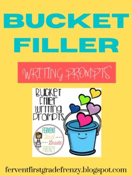 Bucket Filler Writing Activity