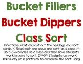 Bucket Filler and Bucket Dipper Scenario Sort