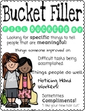 Bucket Filler and Character Education