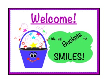 Bucket Filler for Classroom Management