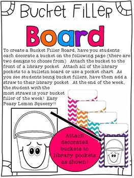 Bucket Filler of the Week Book