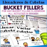 Bucket Filler Activities in Spanish - Llenadores de Cubetas