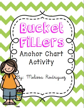 Bucket Fillers Anchor Chart Printable