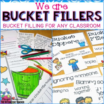 Bucket Filler Activities {BUNDLE}