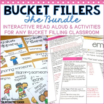 Bucket Filler Template Teaching Resources | Teachers Pay Teachers