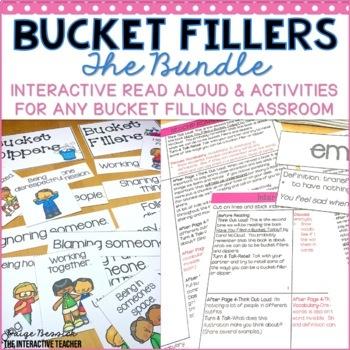 Bucket Filler BUNDLE: Sorts, Activities & Interactive Read Aloud Lesson Plans