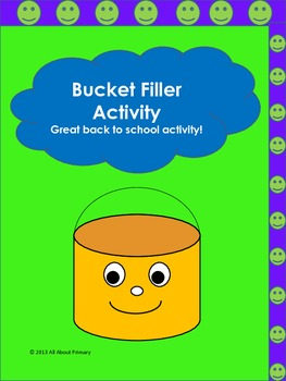 Bucket Fillers/Dippers