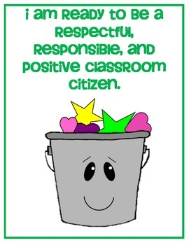 Bucket Fillers Behavior Clip Chart Ladder