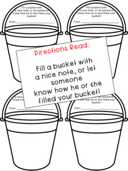 Bucket Fillers Bulletin Board - Have You Filled a Bucket Today?  **Updated!**