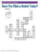 Bucket Filler - Crossword