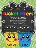 Bucket Fillers {Editable Document}