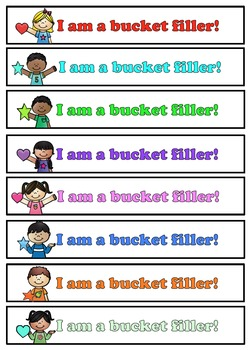 Bucket Fillers Fill this Class