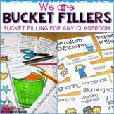 Bucket Fillers Activities, Sorts, Certificates & Bulletin Board