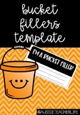 Bucket Fillers Template