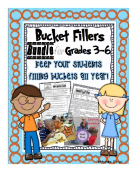Bucket Fillers for the Upper Grades (3rd-6th)