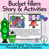 Bucket filler Activities - Social Emotional Learning Story- Distance learning