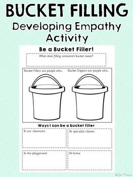 Bucket Filling Activity