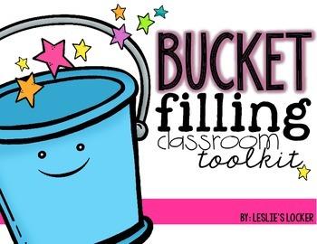Bucket Filling Classroom Tool Kit