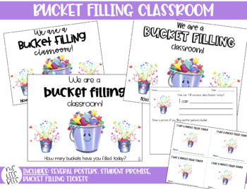 BUCKET FILLING CLASSROOM poster and tickets