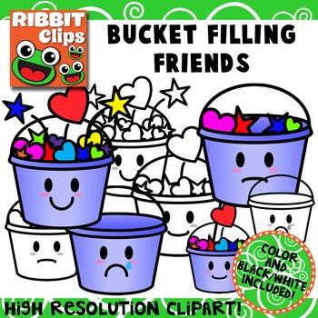 Bucket Filling Friends Clipart