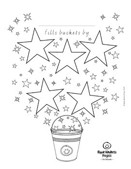 Bucket Filling Lesson Plans & Printables to Teach Kindness - A4