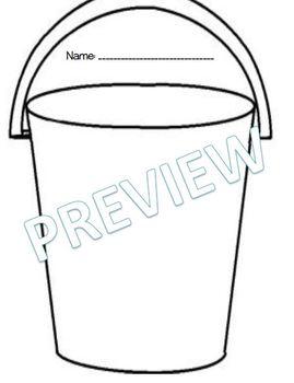 Bucket Filling Lesson Unit