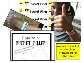 K-2, Bucket Filling Lesson and Game