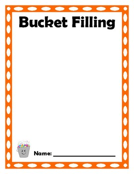 Bucket Filling Positive Notes for Peers