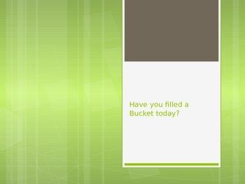 Bucket Filling Powerpoint