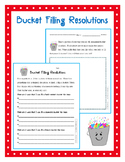 Bucket Filling New Year Resolutions