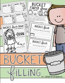 Bucket Filling: Slips, Forms, Activities, Posters, Poems a