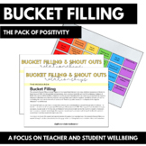 Bucket Filling and Shout Outs - PACK OF POSITIVITY (Wellbeing)